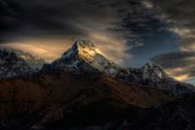 Peak (Annapurna Annapurna Süd 7.219 m) / ***