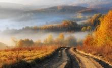 Straße zum Herbst / ***