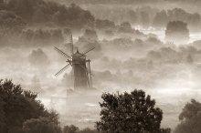 ... Nebel, Nieselregen ... /