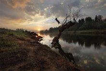 Morgen auf dem Fluss / ***