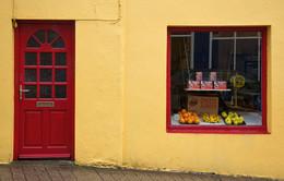 IRLAND / Bei dem vielen Regen auf der Insel Irland muss man wohl Farbe in die Städte bekommen, oder ?