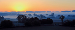 Nebel-Felder / Hat eine gefühlte Ewigkeit gedauert, bis endlich die Sonne kam:)