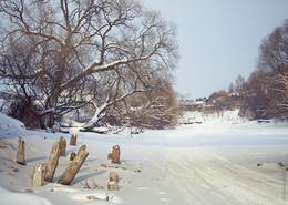 Winter river / ***