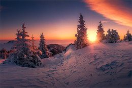 Winterwunderland / Winterwunderland am Gaberl in der Steiermark.