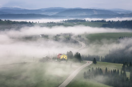 Dort, hinter dem Nebel ... / ***