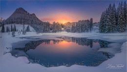 Winterpanorama / Der nächste Winter kommt bestimmt Hohentauern bei den Häuslteich Anlagen.