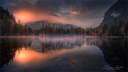 Schiederweiher / Herbstlicher Morgen am Schiederweiher in Oberösterreich. Liebe Grüße an alle Fotofreunde aus Judenburg