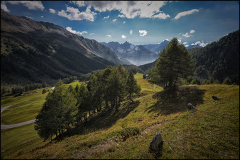 Am Berninapass / Alpenpanorama