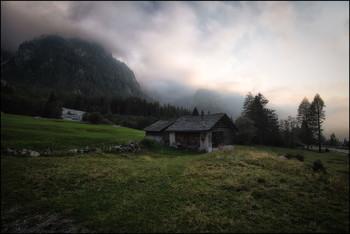 Alpen / Abendstimmung