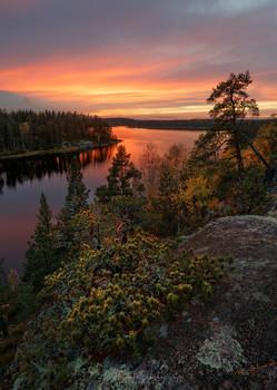Abend auf Ladoga / ***