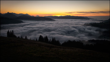Abend / Nebel