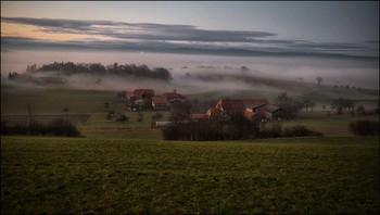 Bauernsiedlung / Am Abend