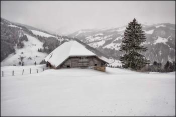 Alphütte / Winter