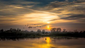 sunset / Sonnenuntergang